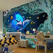 Custom 3D Photo Wallpaper Ocean World Children