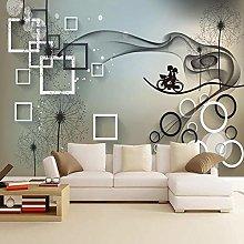 Custom 3D Photo Wallpaper Romantic Dandelion