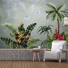 Custom 3D Photo Wallpaper Tropical Plant Leaf