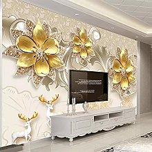 Custom 3D Wall Mural Wall Covering European