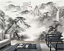 Custom 3D Wall Murals Wallpaper Chinese Ink