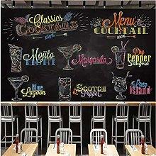 Custom 3D Wall Murals Wallpaper Hand Painted Drink