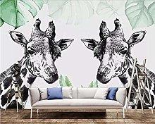Custom 3D Wall Murals Wallpaper Nordic Black and