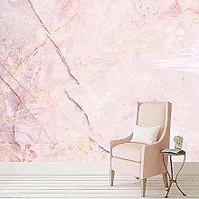 Custom 3D Wallpaper Modern Pink Marble Murals