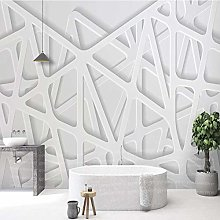 Custom Any Size Wall Cloth Modern 3D Solid Line