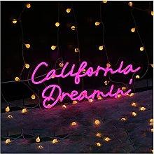 Custom California Dreamin Neon Sign Light,LED Neon
