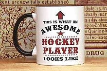 Custom Hockey Gifts, Hockey Mug, Hockey Accessory