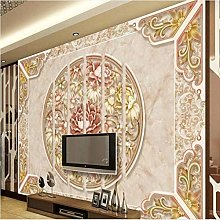 Custom Large - Scale Murals Modern Style Marble