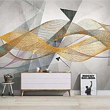 Custom Modern Geometric Abstract Lines Wall Cloth
