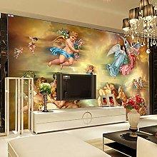 Custom Mural Wallpaper European Style Living Room