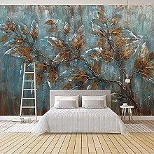 Custom Mural Wallpaper for Bedroom European Style