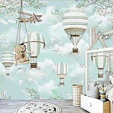 Custom Mural Wallpaper for Kids Room 3D Cartoon