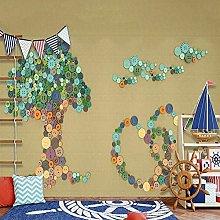 Custom Mural Wallpaper for Kids Room Creative 3D