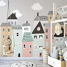 Custom Mural Wallpaper for Kids Room Hand Painted
