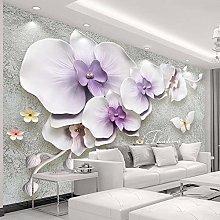 Custom Mural Wallpaper for Walls 3 D Stereoscopic