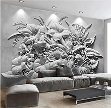 Custom Mural Wallpaper for Walls 3D Embossed