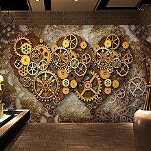 Custom Mural Wallpaper for Walls Retro Heart