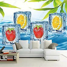 Custom Murals Fruit Shop Industrial Decoration
