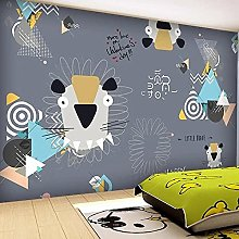 Custom Pattern 3D Wallpaper for Kids Bedroom