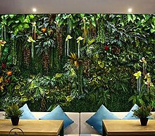 Custom Photo Wallpaper 3D Simulation Green Plant
