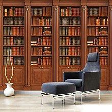 Custom Photo Wallpaper 3D Stereo Bookshelf