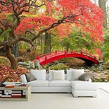 Custom Photo Wallpaper 3D Woods Landscape Living