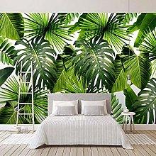 Custom Photo Wallpaper for Walls 3D Banana Leaf