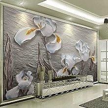 Custom Photo Wallpaper for Walls 3D Embossed