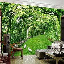 Custom Photo Wallpaper for Walls 3D Green Forest