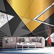 Custom Photo Wallpaper for Walls 3D Modern Black