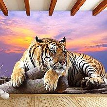 Custom Photo Wallpaper Tiger Animal Wallpapers 3D