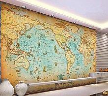 Custom Retro Wallpaper Murals for The Living Room
