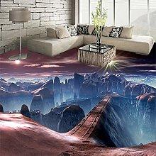 Custom Self Adhesive Floor Mural Wallpaper Modern