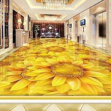 Custom Self-Adhesive Floor Wallpaper Modern