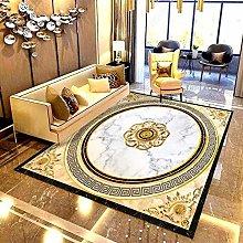 Custom Self-Adhesive Wallpaper 3D Golden Pattern