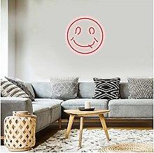 Custom Smiley Face Neon Sign Light,Waterproof Flex