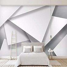 Custom Wall Cloth Modern Abstract Geometric Mural