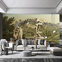 Custom Wall Cloth Primitive Dinosaur Skeleton