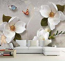 Custom Wallpaper 3D European Retro Flower Sofa