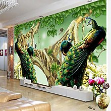 Custom Wallpaper 3D Exquisite Jade Carving