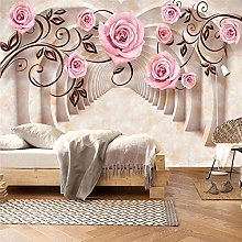 Custom Wallpaper 3D Murals Marble Solid Modern