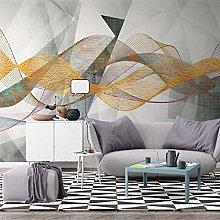 Custom Wallpaper 3D Photo Mural Nordic Modern