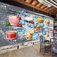 Custom Wallpaper 3D Photo murals Cold Drinks Shop