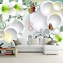 Custom Wallpaper for Walls 3D Stereo Circles