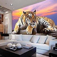 Custom Wallpaper Large Tiger Background Murals