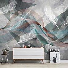 Custom Wallpaper Modern 3D Abstract Striped