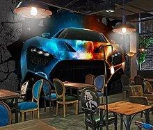 Custom Wallpaper murals 3D bar KTV Cool Luxury car