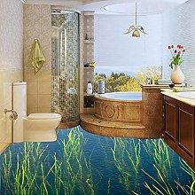 Custom Waterproof Wallpaper for Bathroom Floor