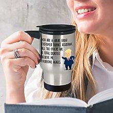 Customer Service Assistant Mug Travel Mug Customer