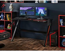 Customisable PC Gaming Office Desk RGB LED Lighting Computer Table